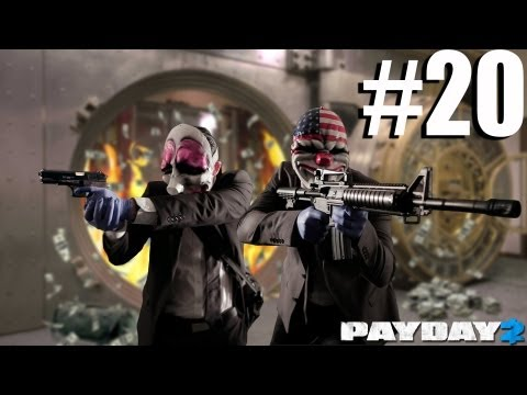PRO JOB - Payday 2 Walkthrough The Elephant: Big Oil - Day 2 (Part 3)