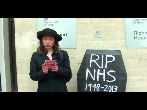 NHS PFI £300 Billion Odious Debt. Exempt the NHS from the US/EU Free Trade Agreement