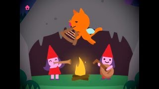 Sago Mini Fairy Tales - app demo for kids