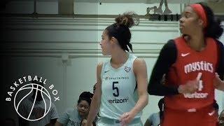 [WNBA] Washington Mystics vs New York Liberty, Full Game Highlights, July 21, 2018