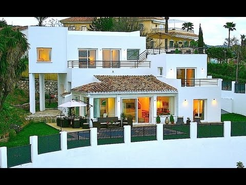 ID: 10237 WWW.ESPANA-HOLIDAY.COM - RENTAL MARBELLA -  BRAND NEW VILLA close to beach