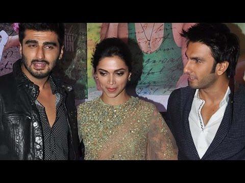 Ranveer Singh, Arjun Kapoor Support Deepika's Cleavage Controversy