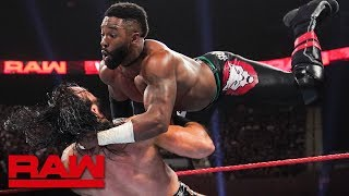 Cedric Alexander vs. Drew McIntyre: Raw, July 15, 2019