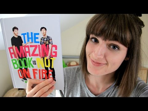 'The Amazing Book is Not On Fire' by Dan and Phil | Review