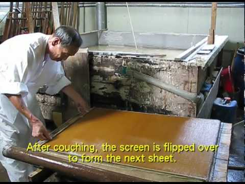 Making hanji: Korean papermaking by Shin Hyun Se