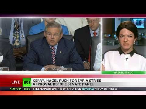 US Senate foreign relations committee debates Syria military action