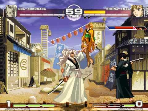 MUGEN : Samurai Deeper Yuuya Oda Nobunaga vs Shiina Yuya