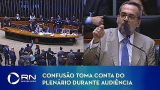 Confusão toma conta do plenário durante audiência com ministro da Educação
