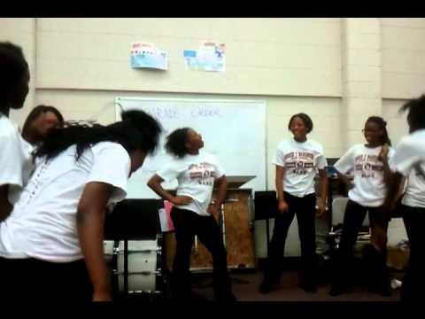 Booker t. Washington high school band camp 1