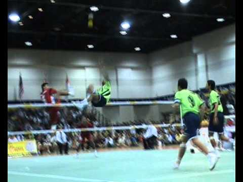 Sepaktakraw World Championships 2008 23rd King´s Cup, Bangkog, Thailand video