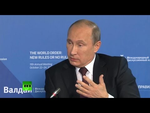 Tough Talk: Putin's key quotes from Valdai speech