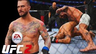 CM PUNK! The Worst Fighter In UFC 2?! EA Sports UFC 2 Online Gameplay