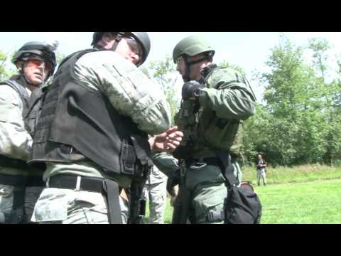 Combined team portion of the 2011 Connecticut SWAT Challenge. In this even 2 operators of a team are combined with another pair of operators from a random te...