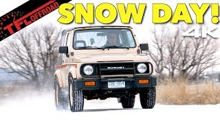 How Good (or Bad) Is the Old School Suzuki Samurai 4X4 System in the Snow?