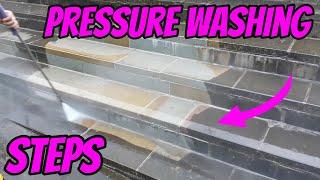 Pressure Washing Steps