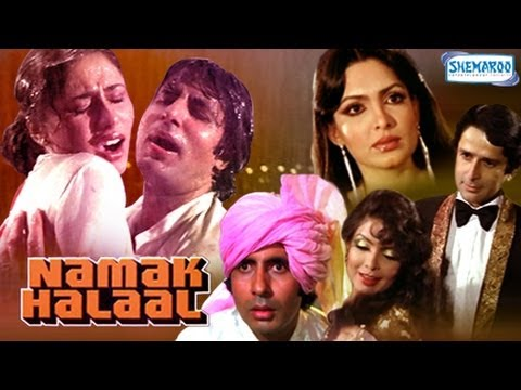 Namak Halaal - Amitabh Bachchan - Shashi Kapoor - Parveen Babi - Full Movie In 15 Mins