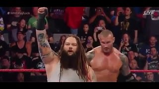 Randy Orton vs. Bray Wyatt   House Of Horrors match   Highlights