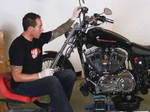 Harley Sportster Maintenance Video Part 2