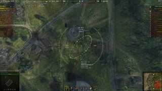 И один в поле войн, даже если это арта! WoT реплей на T92,  карта Оверлорд