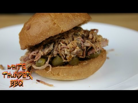 Pulled Pork on the Pit Barrel Cooker (Cold temperature test and recipe) | White Thunder BBQ