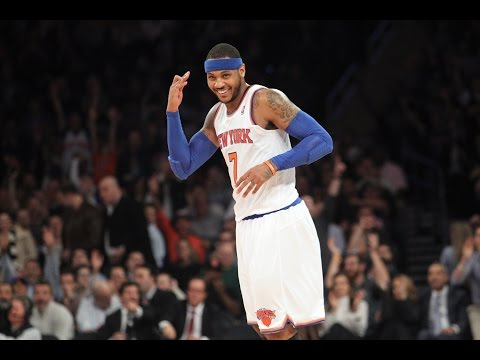 Carmelo Anthony vs Charlotte all 62 points (The Man)