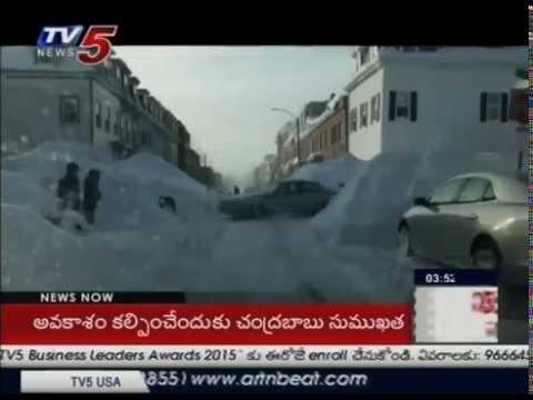 Boston Records Highest Snow Fall, Life Comes to Halt : TV5 News