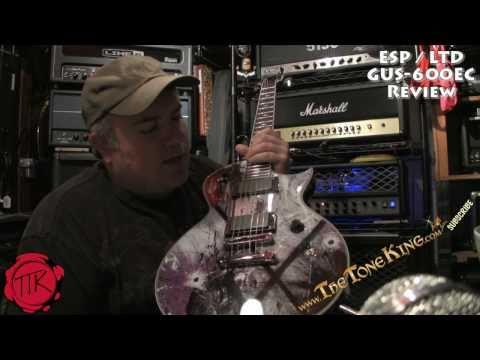 ESP LTD GUS G Gus-600 EC Guitar Demo Review using Randall RT100