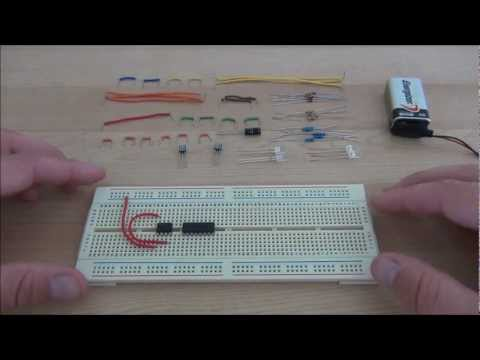 555 Timer Circuits - Police Lights