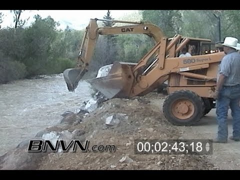 5/26/2005 Questa NM, Flooding Video
