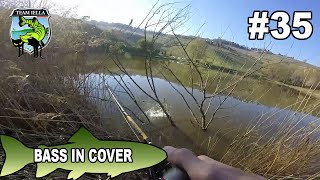 Bassfishing - Bass in Cover a Jig