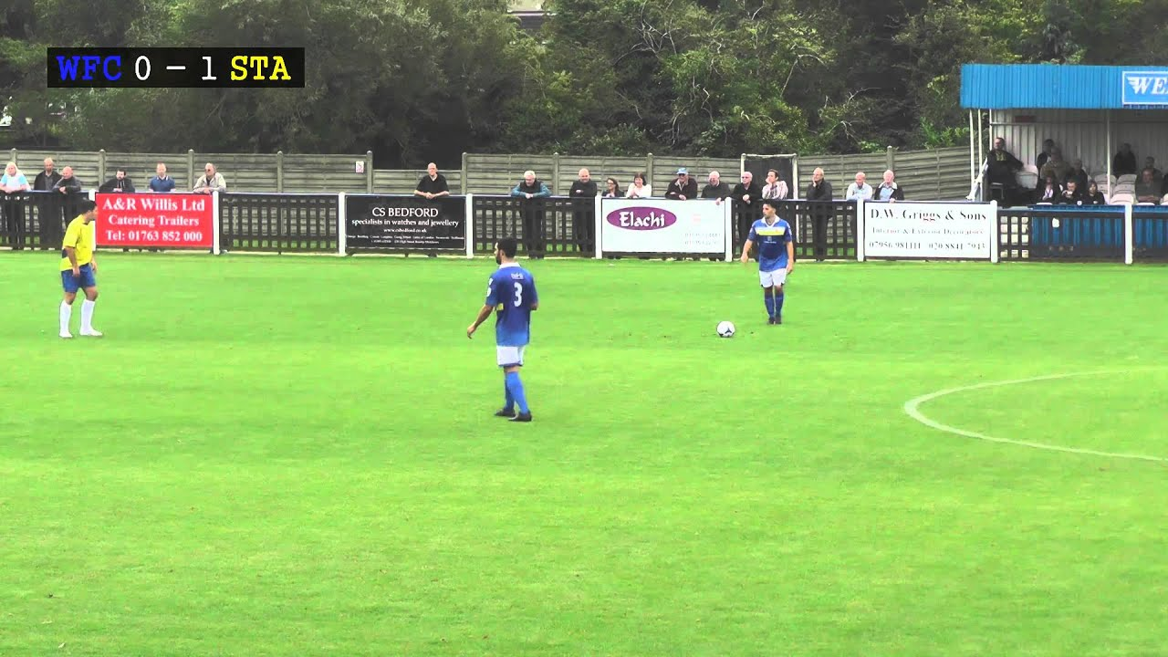 Wealdstone Fc Vs St Albans City Fc 20 09 14 Youtube