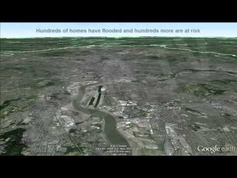 UK floods  Flooding crisis hits the Thames  February 2014  [igeonews]