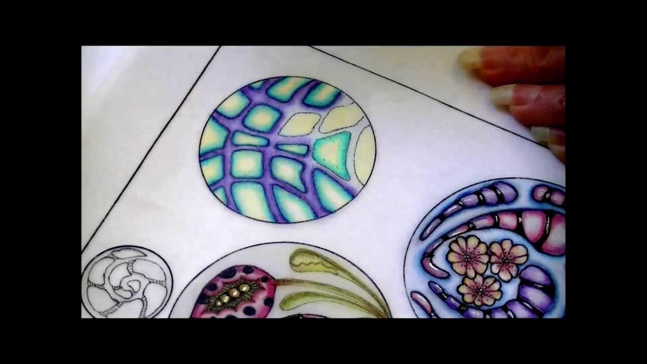 Zentangle Art With Color Zentangle Inspired Art