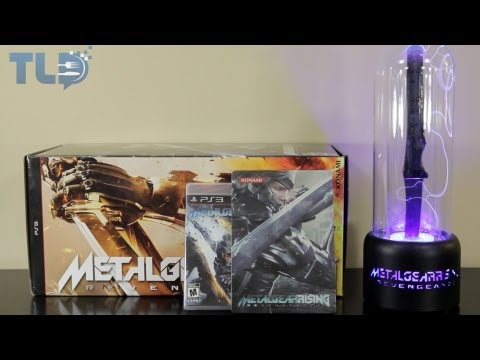 Unboxing: Metal Gear Rising Revengeance Collector's Edition