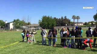 VIDEO: Lodi Unified launched a high altitude weather balloon w/ CanSat technology on Friday.