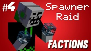JailMine Factions - #4 Spawner Raid!!