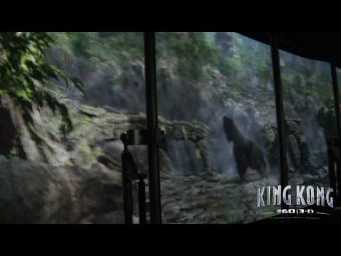 King Kong 360 3D: Return to Skull Island Full HD Experience Universal Studios Hollywood Studio Tour