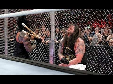 WWE Hell in a Cell 2015 Roman Reigns vs Bray Wyatt HD thumbnail