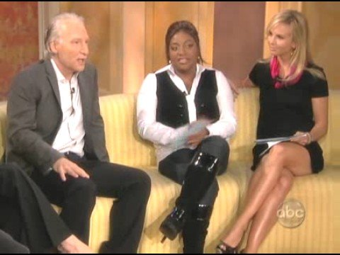 "Bill Maher On ""The View"" Gives his take on Sarah Palin"