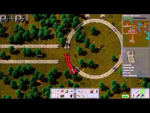 Factorio Railworld Ep#28: Rail-laying tank