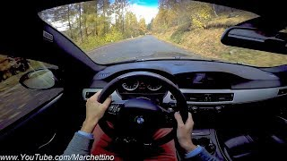 Insane Sounding BMW M3 E92 - POV Test Drive & Powersliding!