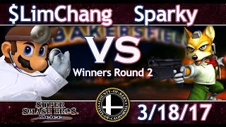 SmashLab (ML) 3-18-17 $LimChang (Doctor Mario) Vs. Sparky (Fox)