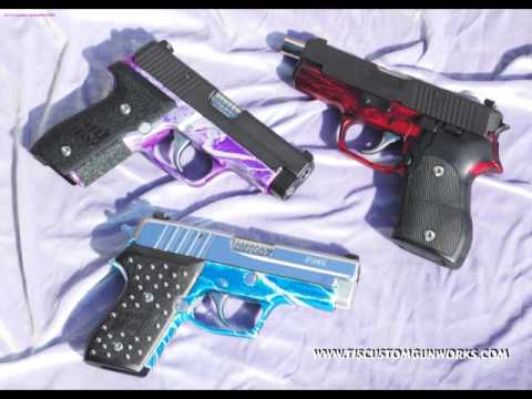 TJ' s Custom Gunworks Sig Sauer Disassembly & Reassebmly DVD Trailer 3 - Cleaning & Gunsmithing