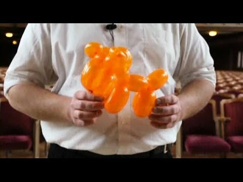 how to make a balloon animal step by step