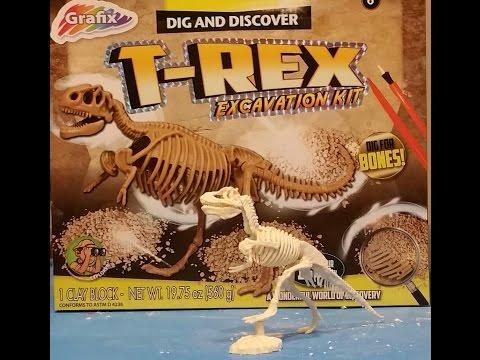 Toysmith dig a dino t-rex excavation kit 14750382