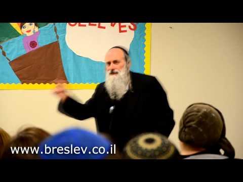Rabbi Lazer Brody speaking at Torah Day School Dallas, Texas
