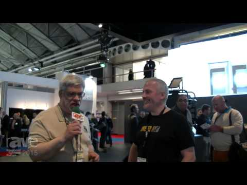 ISE 2015: Joel Rollins Visits the Lang AG Stand at ISE