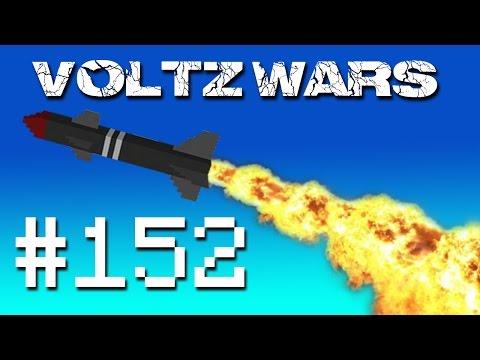 Minecraft Voltz Wars To Space #152