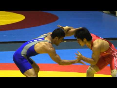 Freestyle Wrestling - Iran vs. Korea 74 kg Match (114521) Image 1