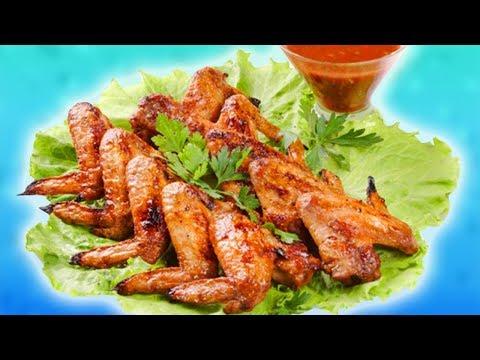 САМЫЙ Вкусный, Простой и Недорогой Рецепт Шашлыка из Куриных Крылышек с Хрустящей Корочкой
